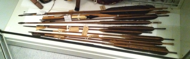 Manchu arrows in the Ingo Simon collection